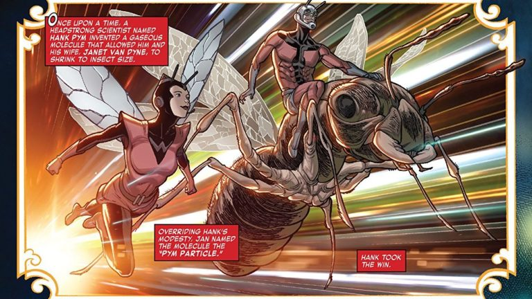 Antman and Wasp comics