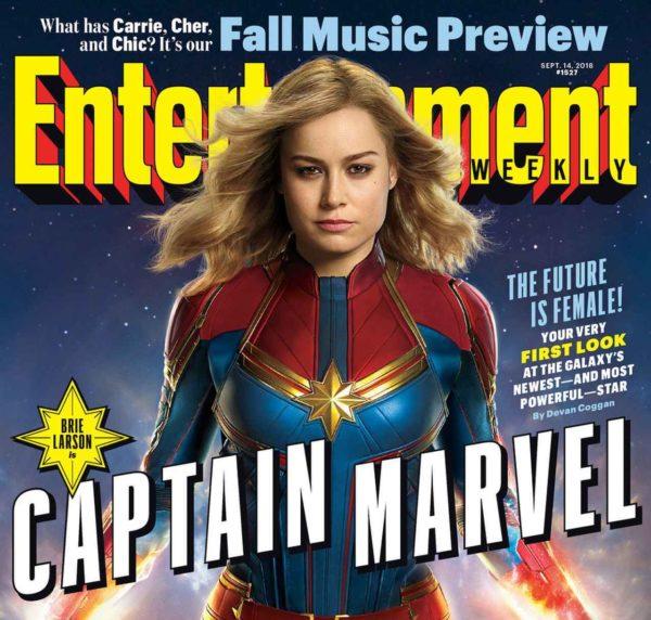 キャプテンマーベル映画予告 いよいよ来週か
